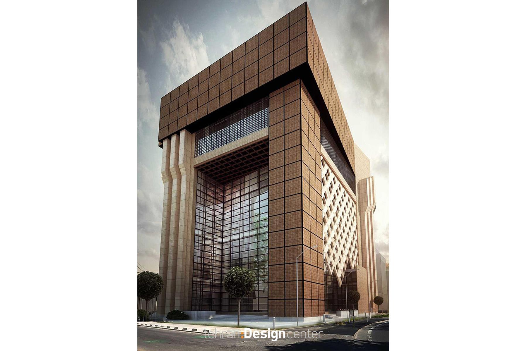 Tehran Design Center-Architecture-Tejarat Bank Ahvaz