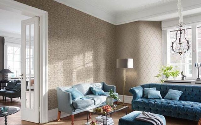 استفاده از کاغذ دیواری در نمای دیوار | شرکت صدف پک